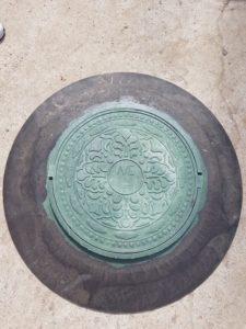 крышка канализации