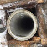 установка колец в сруб колодца